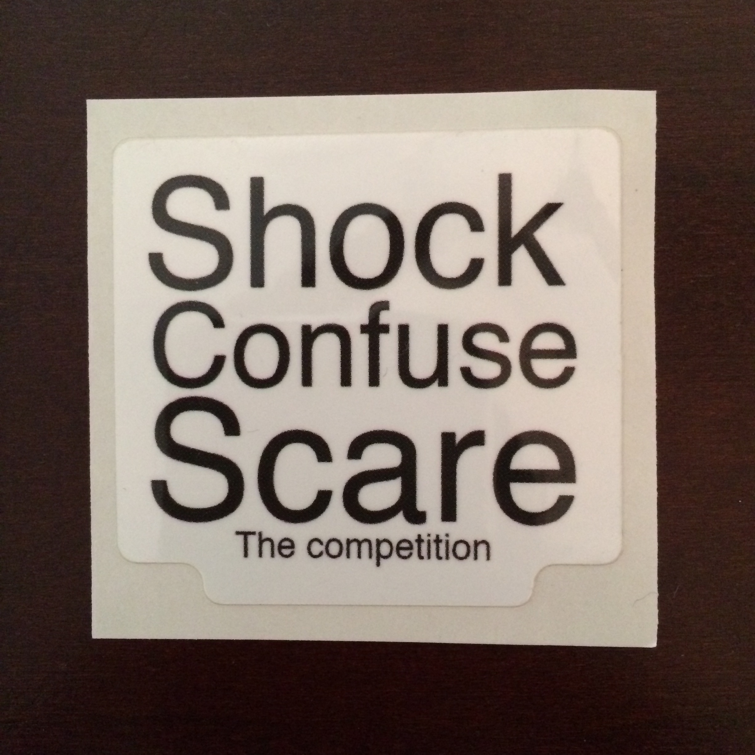 Shock Confuse Scare